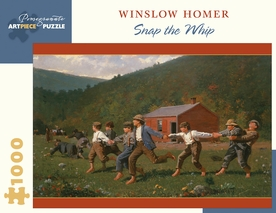 Winslow Homer: Snap the Whip 1000-Piece Jigsaw Puzzle