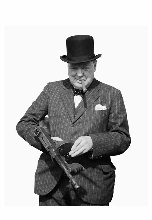 Winston Churchill Book of Postcards