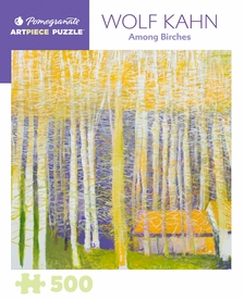 Wolf Kahn: Among Birches 500-Piece Jigsaw Puzzle