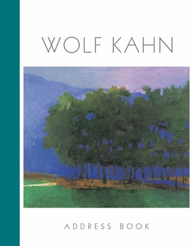 Wolf Kahn Deluxe Address Book