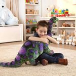 Lifelike Long Neck Apatosaurus Giant Dinosaur Stuffed Animal