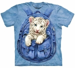 Backpack White Tiger Youth T-shirt
