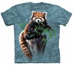 Bamboo Red Panda Youth T-shirt