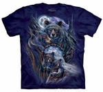 Bears Journey to the Dreamtime Adult T-shirt