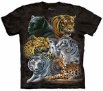 Big Cats Youth & Adult T-shirt