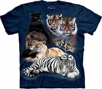 Big Cats Youth T-shirt