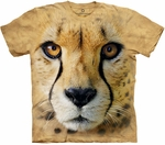 Big Face Cheetah Youth & Adult T-shirt