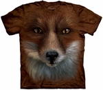 Big Face Fox Youth & Adult T-shirt
