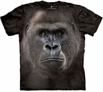 Big Face Lowland Gorilla Youth & Adult T-shirt
