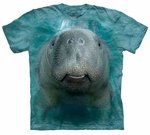 Big Face Manatee Youth & Adult T-shirt