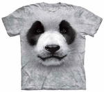 Big Face Panda Youth & Adult T-shirt