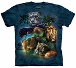 Big Jungle Cats Youth & Adult T-shirt