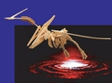 Giant Flying Dinosaur Reptile Pteranodon Woodcraft Skeleton Kit,  47 inch