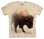 Bison Forest Adult T-shirt