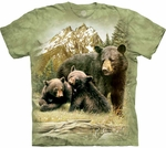 Black Bear Family Youth & Adult T-shirt