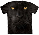 Black Panther Face Youth & Adult T-shirt