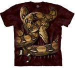 Boa Constrictor Squeeze Adult T-shirt