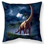 Brachiosaurus Throw Pillow