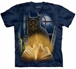 Cat Bewitched Adult T-shirt