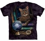 Cat The Fortune Teller Adult T-shirt