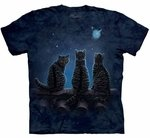 Cats Wish Upon a Star Adult T-shirt