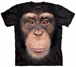 Chimp Face Youth & Adult T-shirt