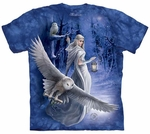 Cool Midnight Messenger Adult T-shirt
