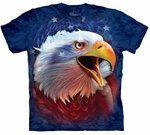 Cool Revolution Eagle Adult T-shirt