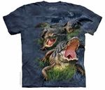 Prehistoric Alligator T-shirt, 3 pcs