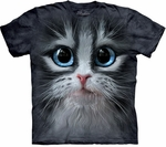 Cutie Pie Kitten Face Youth & Adult T-shirt