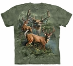 Deer Collage Adult T-shirt
