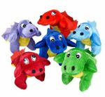 Small Baby T-rex Dinosaur Plush Toy, 6 pcs