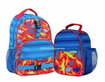 Dinosaur Backpack and Lunchbox Back to School Set