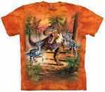 Dinosaur Battle T-shirt, 3 pcs