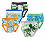 Jurassic World Boy's 5 Pack Briefs