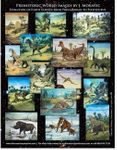 Permian Cretaceous and Jurassic Dinosaurs, 20 Oil Paintings 90 Days