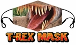 FREE T-REX Face Mask with $45+ Order