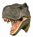 T-rex Dinosaur Head Wall Mount 14""