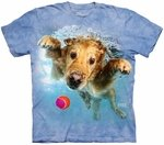 Dog Underwater Frisco T-shirt