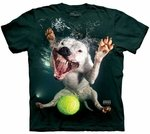 Dog Underwater Grace Adult T-shirt