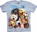 Dogs Selfie Youth & Adult T-shirt