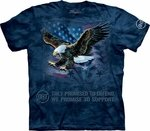 Eagle Defend Adult T-shirt