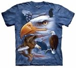 Eagles Free To Fly Adult T-shirt