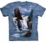Eagles Majestic Flight Adult T-shirt