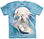 Eagles Peace At Last Adult T-shirt