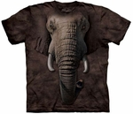 Elephant Face Youth & Adult T-shirt