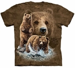 Find 10 Brown Bears Youth & Adult T-shirt
