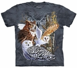 Find 11 Owls Youth & Adult T-shirt