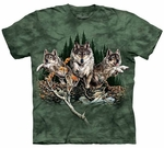 Find 12 Wolves Youth & Adult T-shirt