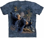 Find 13 Black Bears Youth & Adult T-shirt